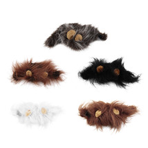 Lion Wig/Ewok Halloween costume Hat for Cats and dogs NEW US SELLER - $9.93