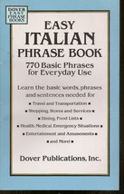 Easy Italian Phrase Book: 770 Basic Phrases for Everyday Use - $4.99