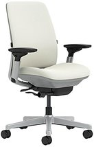 Steelcase Amia Chair with Platinum Base & Hard Floor Casters, Coconut - $709.20