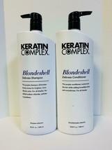 Keratin Complex Blondeshell Brighten Shampoo & Conditioner - 33.8oz Liter Duo! - $64.85