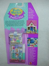 1994 COZY COTTAGE Polly Pocket HOUSE Pollyville Playset MIB # 11200 - $60.00