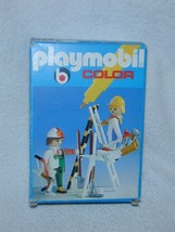 KLICKY 1978 PLAYMOBIL Pure White COLOR Set PAINTERS CONSTRUCTION Tools 3... - $65.00