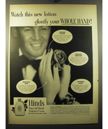 1949 Hinds Honey and Almond Fragrance Cream Ad - Watch this new lotion g... - $14.99