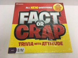 Fact Or Crap Trivia With Attitude Fun Adult Family Board Game Brand New Sealed - $16.82