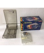 "VTG 1993 SRW Computer Components 3.5"" Floppy Disk File 30 Plus Diskettes... - $25.49"