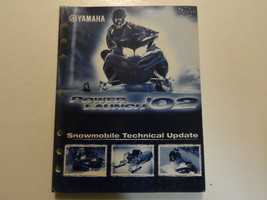 2002 Yamaha SNOW MOBILE POWER LAUNCH technical update Manual Factory OEM... - $39.48