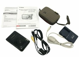 Canon Power Shot SD1400IS With Accessories NO MEMORY CARD - $28.49