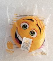 McDonalds 2017 Emoji Gene Yellow Plush Tongue Sticking Out Childs Meal Toy - $4.99