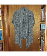 New Directions Woman Black Gray White Cardigan - Size 3X - $18.04