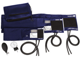 Prestige Medical 3-in-1 Aneroid Sphygmomanometer Set with Carry Case, Navy - $58.98