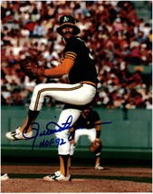 Rollie Fingers Oakland Athletics Autographed 8x10 Baseball Photo 2 W/HOF... - $39.95