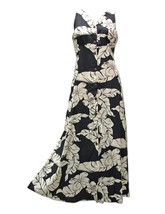 Black Pareau Paradise Print Button Front Long M... - $89.05 - $94.00