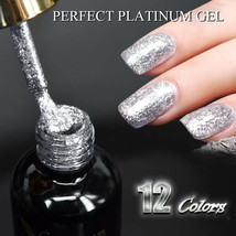 Venalisa Supply Nail Art Gel 12ml Color Supper Diamond Glitter Shining Sequin - $6.00+