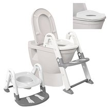 Dreambaby 3 in 1 Toilet Trainer, White/Grey - $34.99