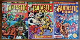 Fantastic Four Comic Lot of 3 -149, 151 & 153 VF Submariner Thundra Nucl... - $21.83