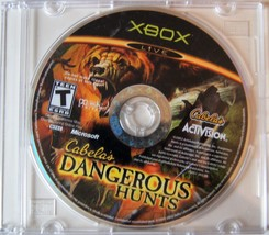 Cabela's Dangerous Hunts (Microsoft Xbox, 2003)Game Disk Only  - $6.64
