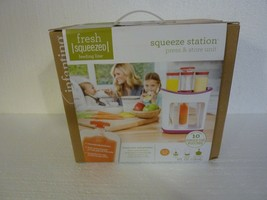 New Sealed Infantino Squeeze Station Baby Food Maker With Additional Pou... - $14.50