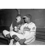 BOB FELLER & SATCHEL PAIGE 8X10 PHOTO CLEVELAND INDIANS MLB BASEBALL PIC... - $3.95