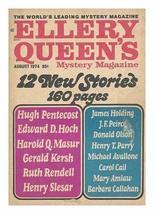 Ellery Queen's Mystery Magazine, Vol. 64, No. 2, August 1974 [Paperback] [Jan 01