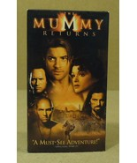 Universal The Mummy Returns VHS Movie  * Plastic Paper - $4.34