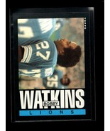 1985 TOPPS #65 BOBBY WATKINS NMMT LIONS - $1.49