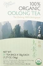 Organic Oolong Tea Prince Of Peace 20 Tea Bags. 1.27 oz, Pack of 20 - $4.95