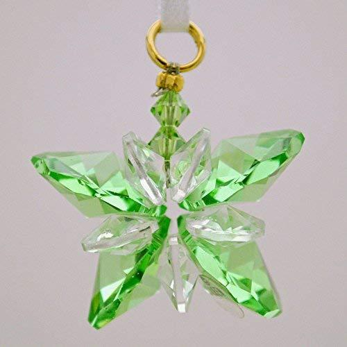 J'Leen Peridot Small Crystal Butterfly