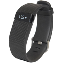 Fitbit Charge HR Wireless Activity Wristband Black Small Fitness Tracker - $41.80