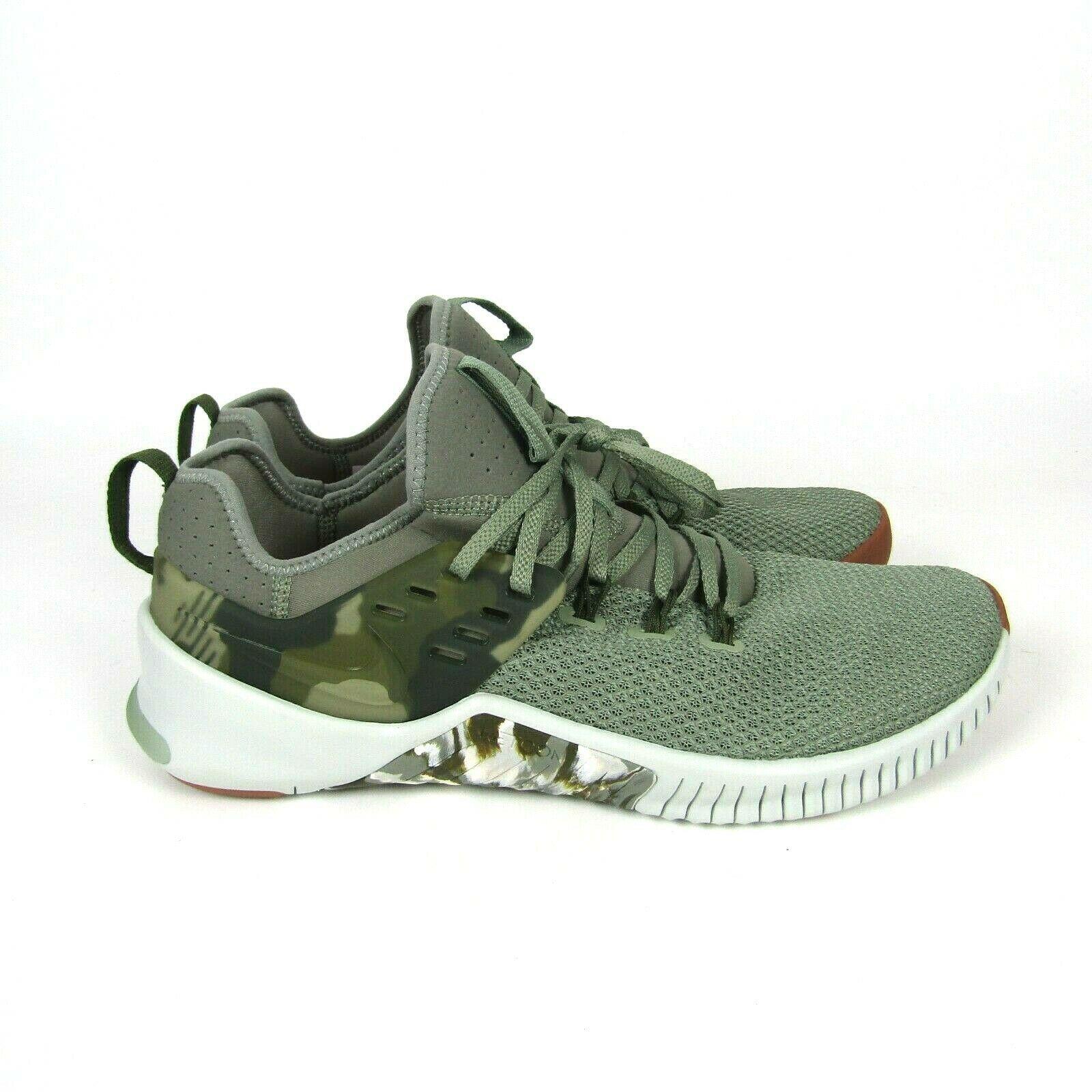 Mens Nike Free Metcon Running Shoes Size 11.5 Green Tan Camo AH8141 002 Trainer