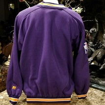 Mens Vintage Lee Sport PHOENIX SUNS Embroidered Logo Purple Sweatshirt Sz XL image 2