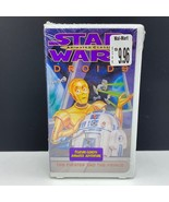 Star Wars VHS animated classics sealed tape cartoon 1985 Droids Pirates ... - $22.77