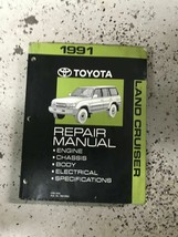 1991 TOYOTA LAND CRUISER Service Shop Repair Workshop Manual OEM - $118.75