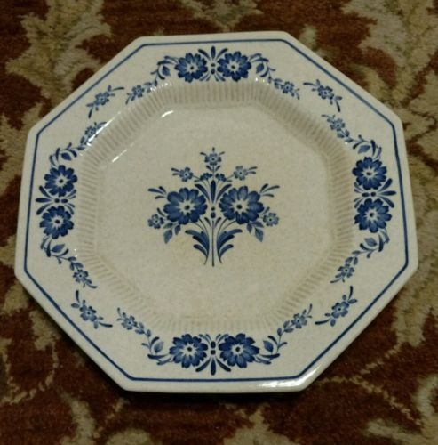 """NIKKO MARINER BLUE 6 3/4"""" Cereal Bowls Classic Collection Stone"""