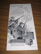 1960 Print Ad Federal Shotgun Shells Duck Hunters Minneapolis,MN - $11.05