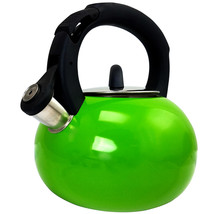Mr Coffee Piper Shine Whistling Tea Kettle in Green - €36,90 EUR