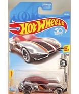 2018 Hot Wheels #160 Super Chromes 3/10 GAZELLA GT Chrome w/Black 5 Spok... - $5.89