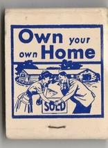 Vtg Strike on Matchbook ~ Alvin A. Heer Realtor ~ Real Estate ~ Lodi, Ca... - $11.87