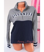 PINK VS Collegiate Collection Villanova Wildcats 1/4 zip Jacket Size XS ... - $47.99