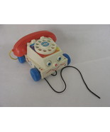 Fisher Price Classic Chatter Phone Pull Toy Telephone Ringing Rotary  - $16.82