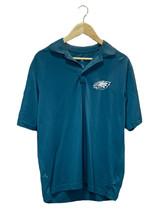 Philadelphia Eagles NFL Football Green Tailgate Team Spirit Antigua Polo Shirt S - $12.73