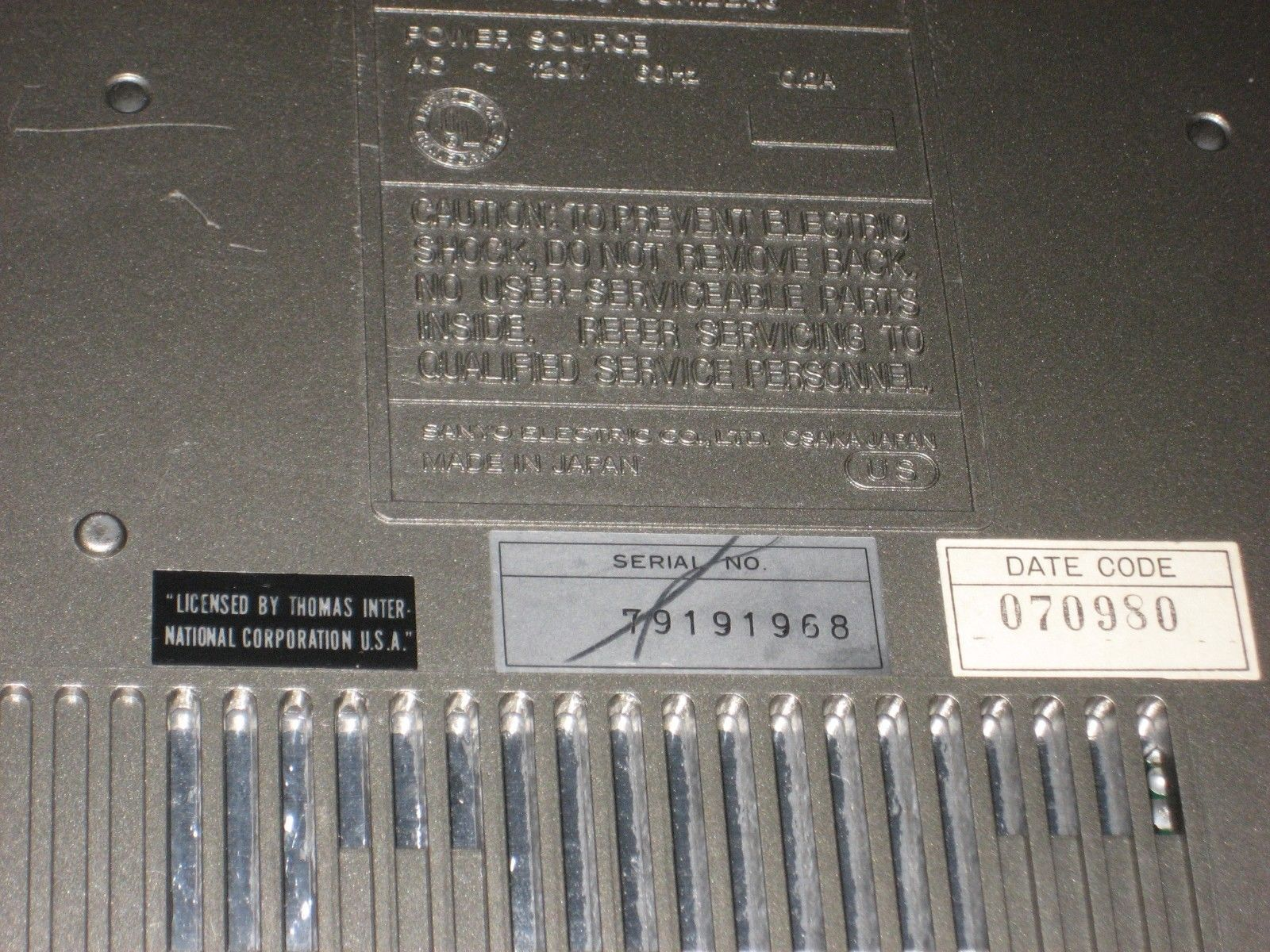 Sanyo Memo Scriber TRC 8070, Vintage MIJapan and 50 similar items