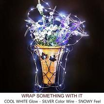 Bright Zeal 66' Long LED Cool White String Lights Outdoor Waterproof Fairy Light image 4