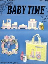 Baby Time Plastic Canvas Book PATTERN/INSTRUCTIONS 10 Projects Train, Tote - $3.57