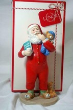 "Lenox 2018 Sweet Dreams Santa 8"" Tall Porcelain Figure New In Box - $48.50"