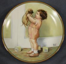 Mine Child's Best Friend Collector Plate Bessie Pease Gutmann Puppy Dog - $32.95