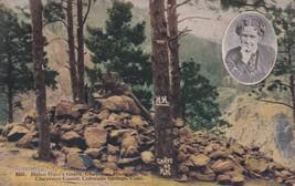 Helen Hunt's Grave Cheyenne Mountain Canon Colorado Springs CO Postcard A31 - $2.69
