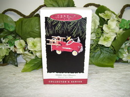 1995 Hallmark Ornament Murray Fire Truck  MIB Kiddie Car Classics - $21.03