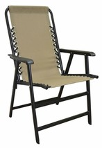 Caravan Sports Suspension Folding Chair, Beige - £105.36 GBP
