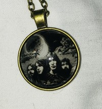 "PINK FLOYD PENDANT NECKLACE *NEW* BAND MEMBERS 1"" - $14.99"