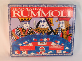 Rummoli Game Tray & Chips 1995 Canada Games Bilingual Excellent Plus Con... - $28.59